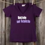 »Butzele sei Schätzle« | lila L