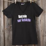 »Butzele sei Schätzle« | schwarz
