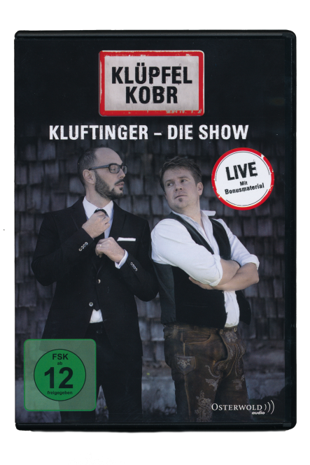 "DVD ""Kluftinger-Die Show"" CD"