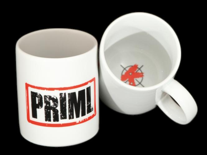 Tasse »Priml« weiß
