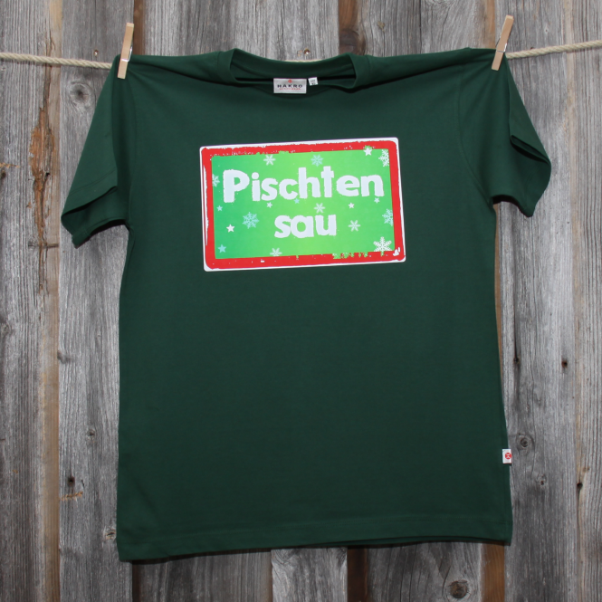 »Pischtensau« | tannengrün